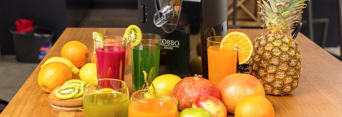 Świeżo wyciskane soki cobbo s5000